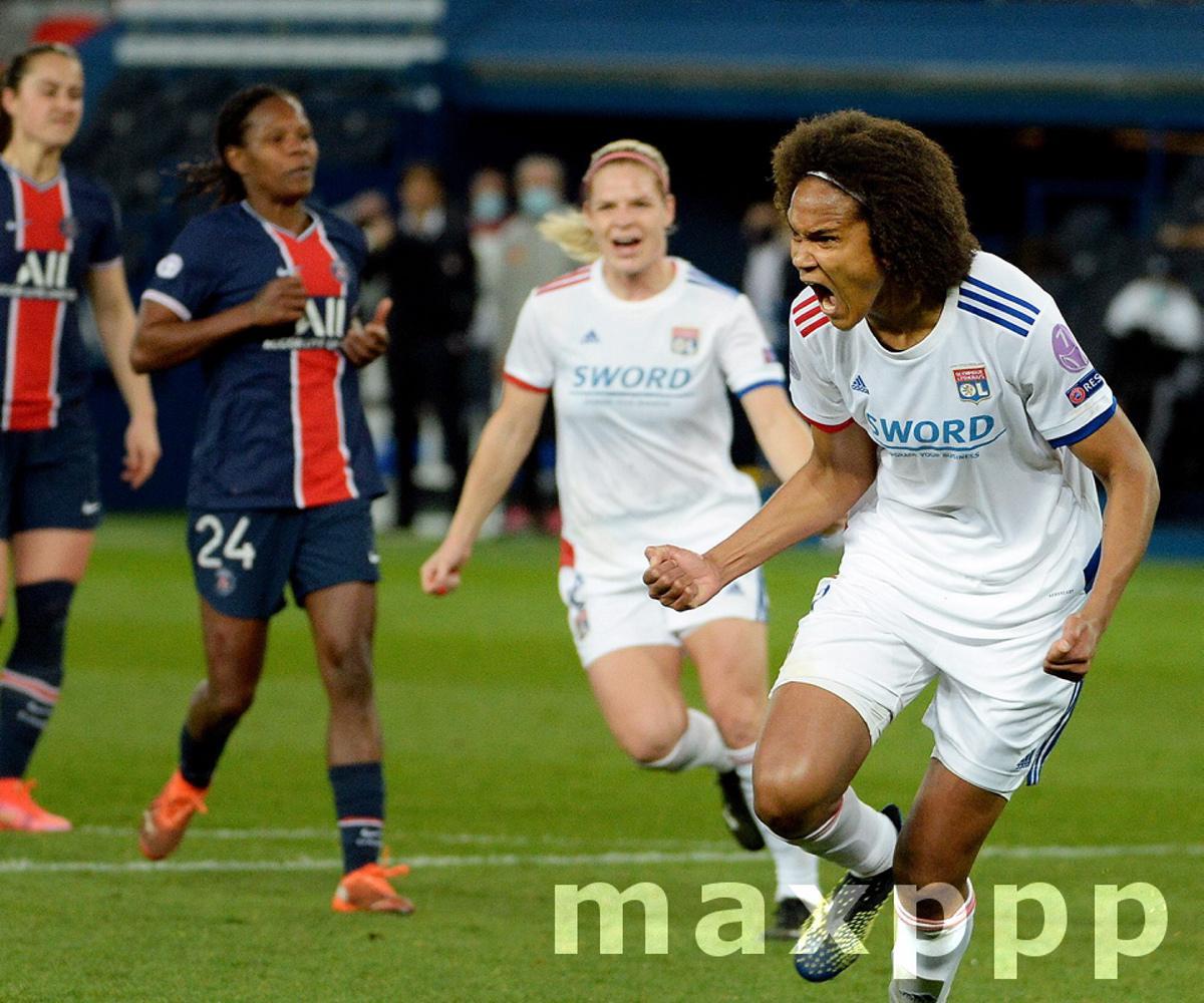Quart finale aller  Uefa feminine PSG OL