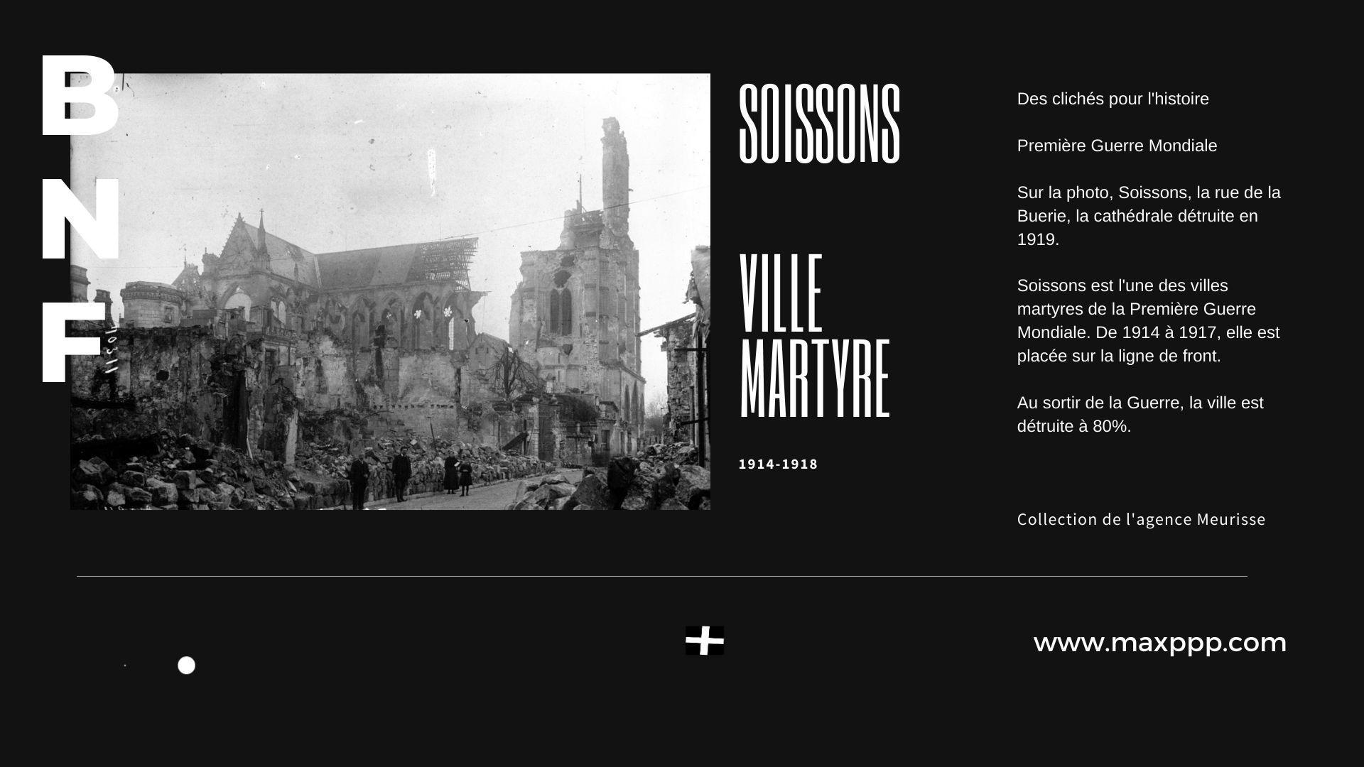 Soissons, ville martyre