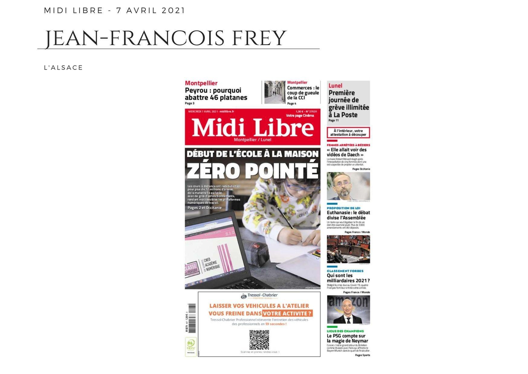 Midi Libre - 7 avril 2021
