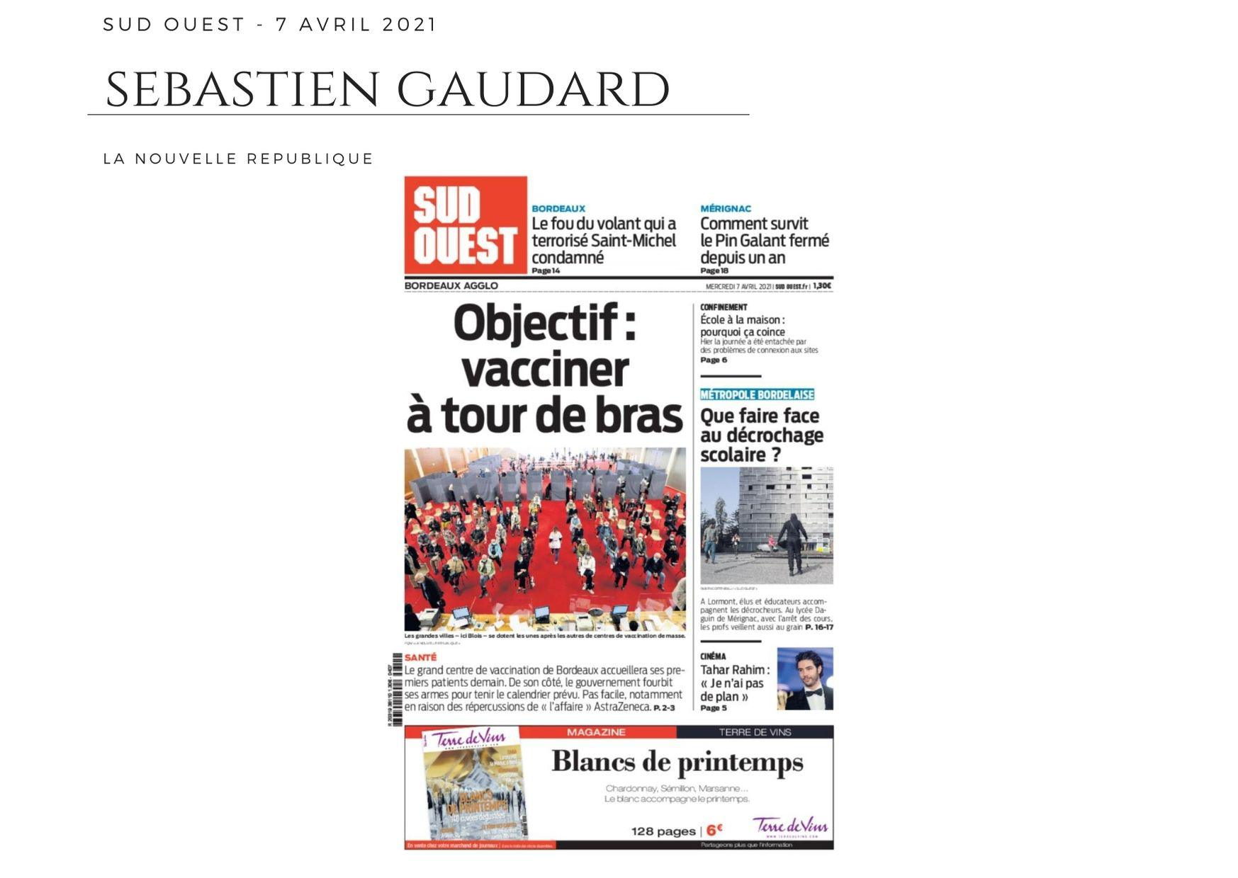 Sud Ouest - 7 avril 2021