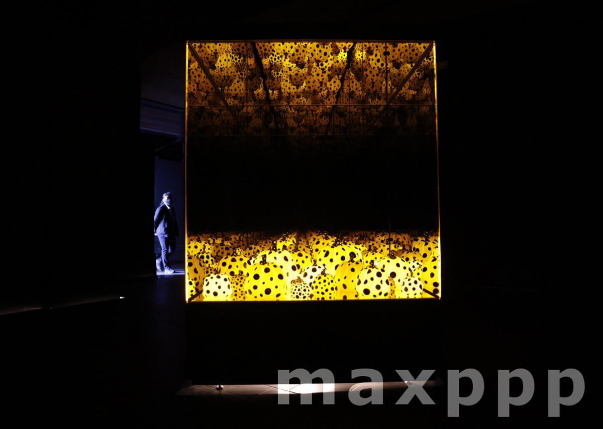 KUSAMA: Cosmic Nature Media Preview in New York