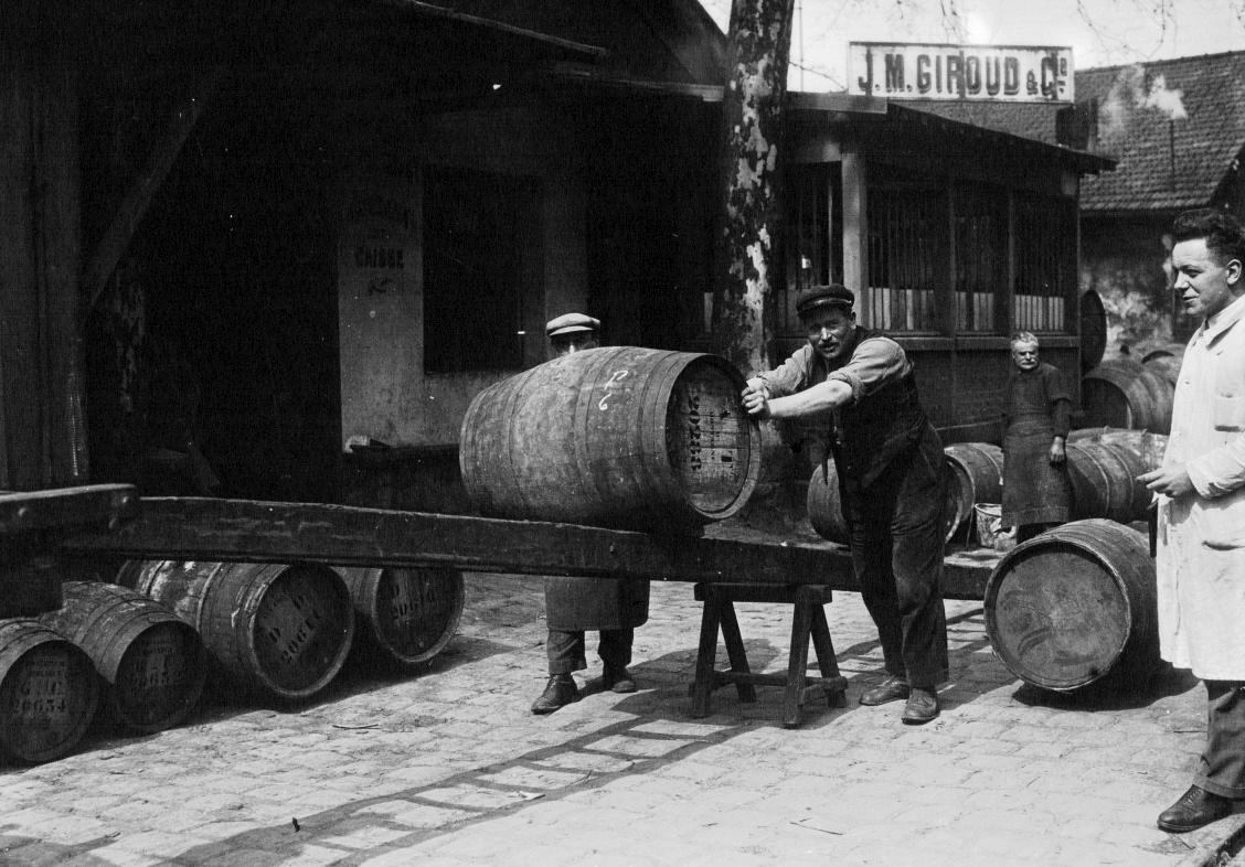Commerce du vin à Paris dans les années 1930