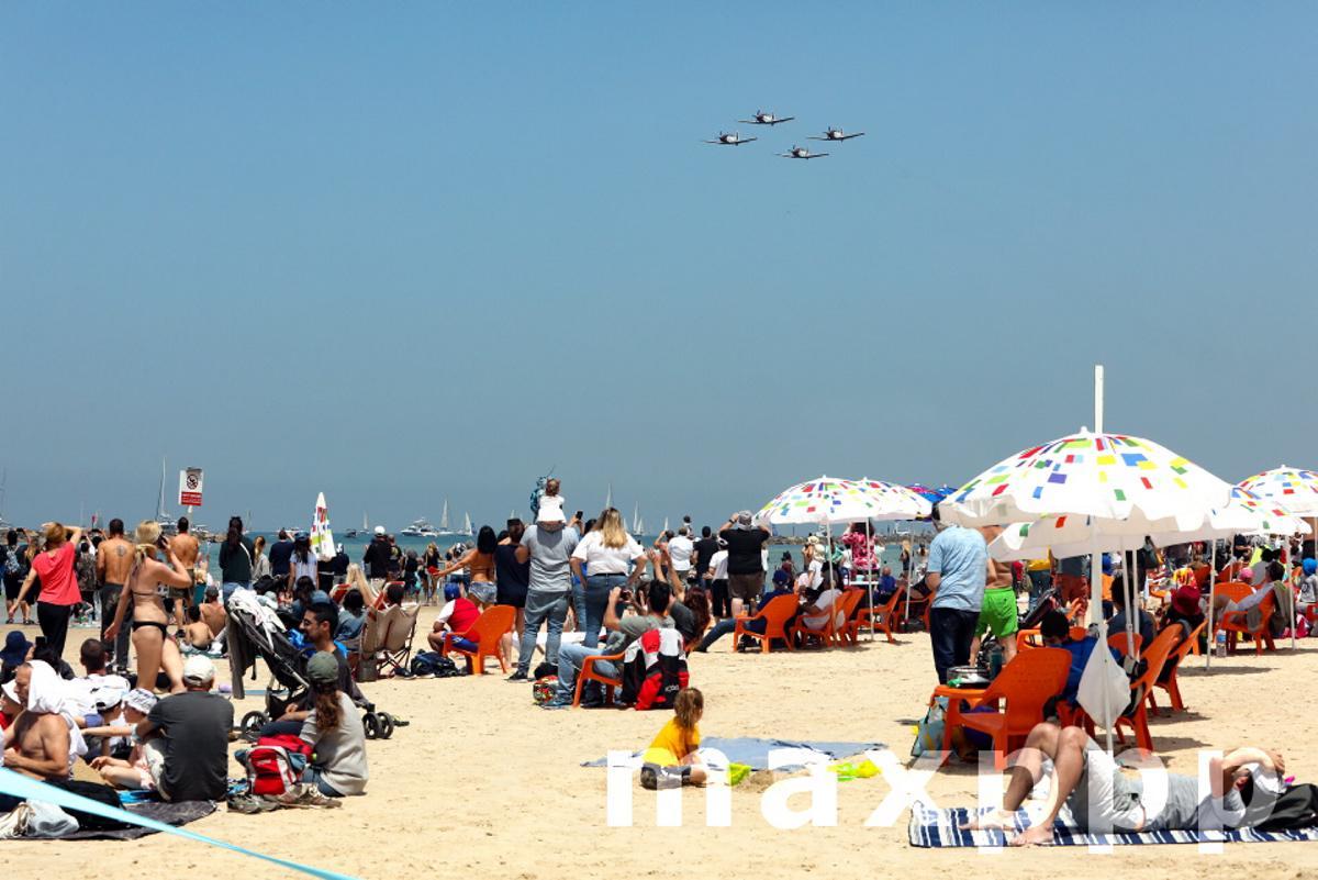 Tel Aviv Independance Day