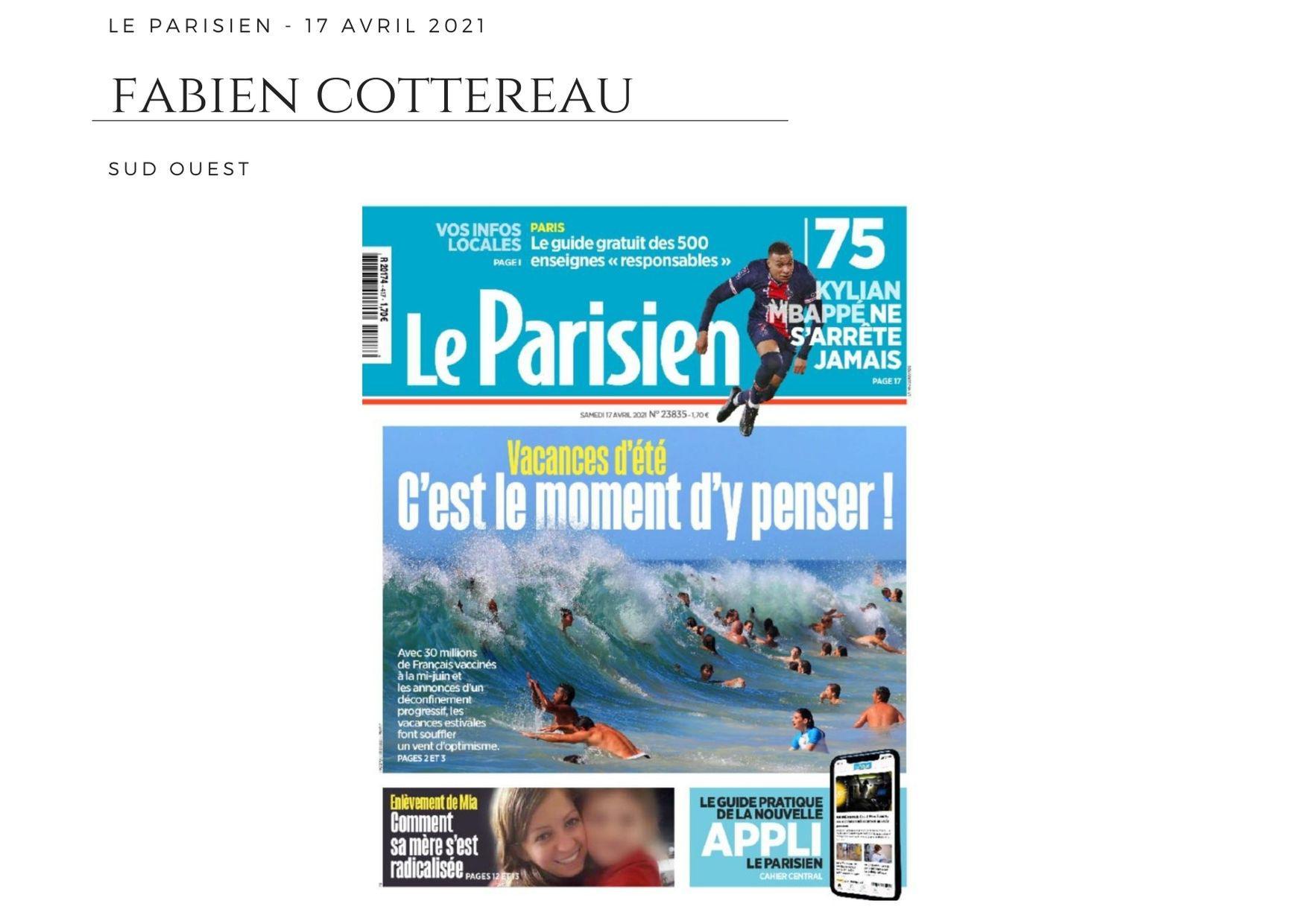 Le Parisien - 17 avril 2021
