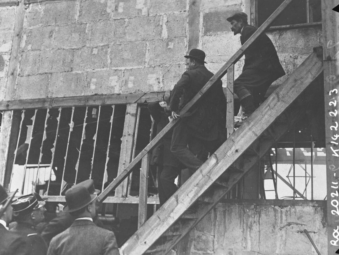 Arrestation de la bande à Bonnot le 27 avril 2021