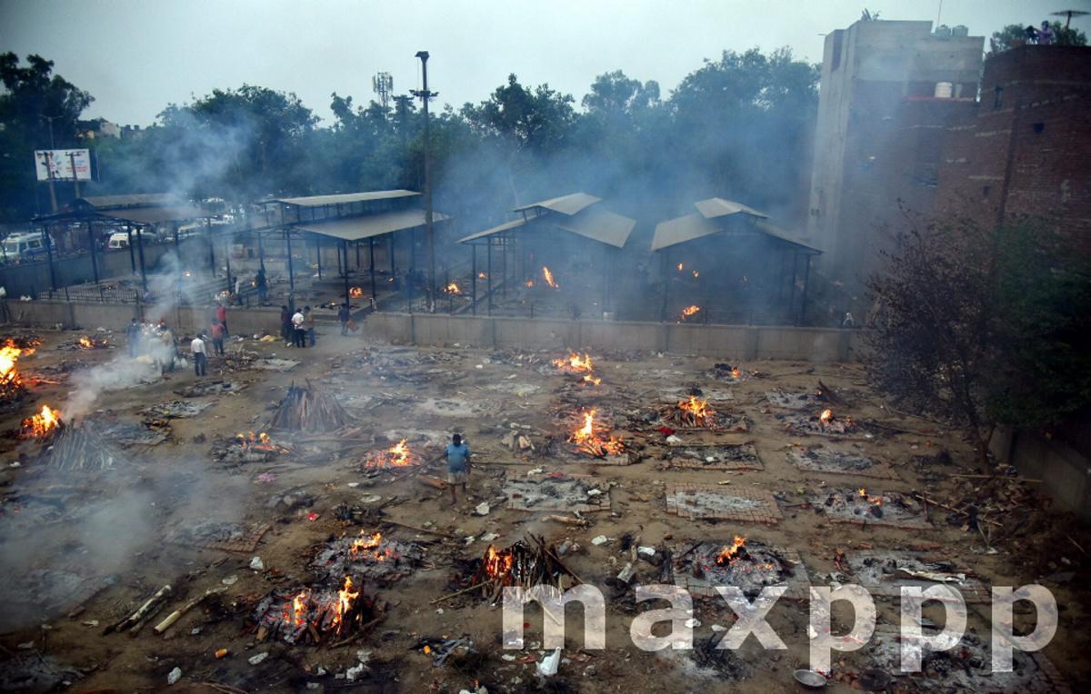 Covid-19 crisis in New Delhi