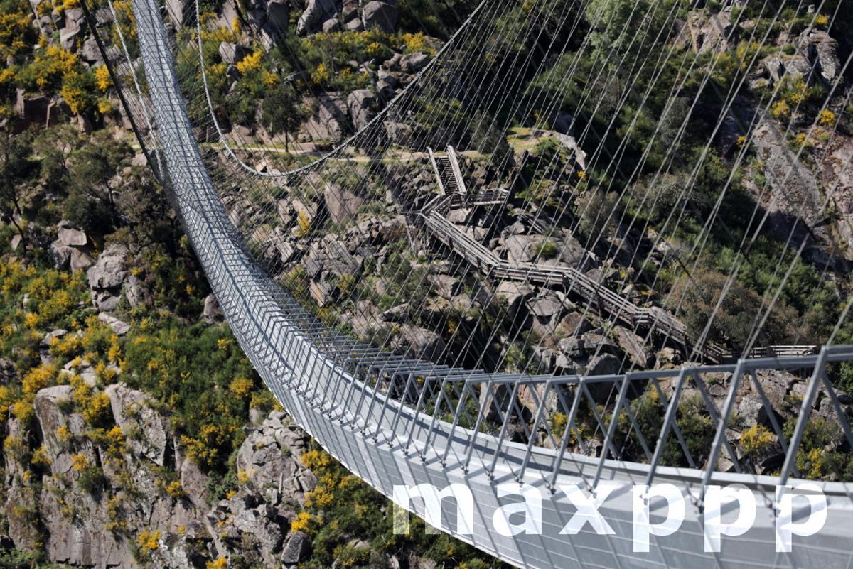 Largest pedestrian suspension bridge in the world