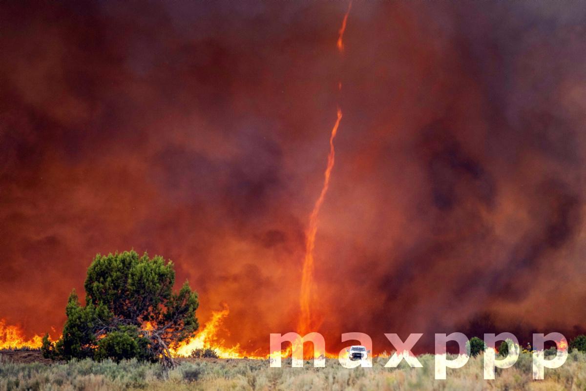 Pine Gulch Wildfire in Colorado