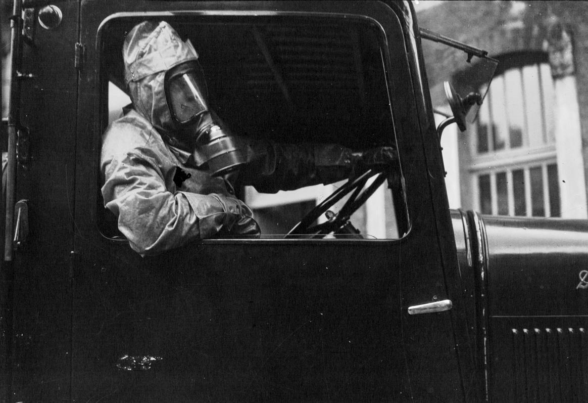 1936 - Exercice d'alerte de défense passive