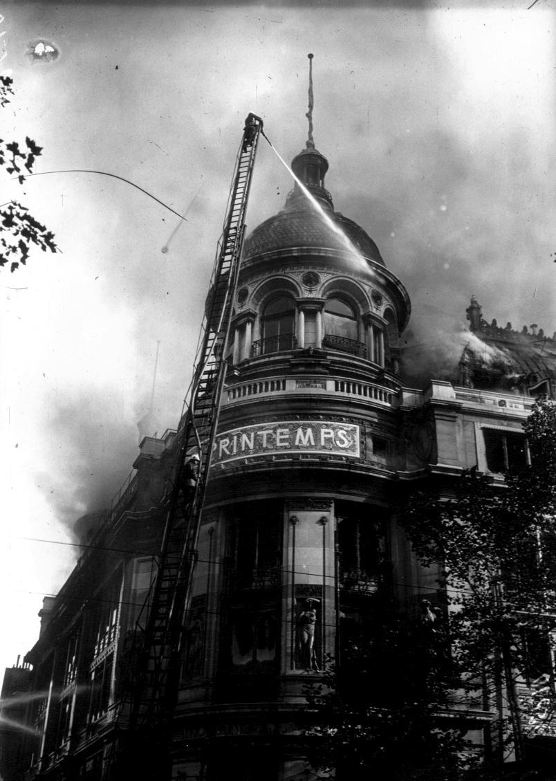 Incendie Printemps, 1921
