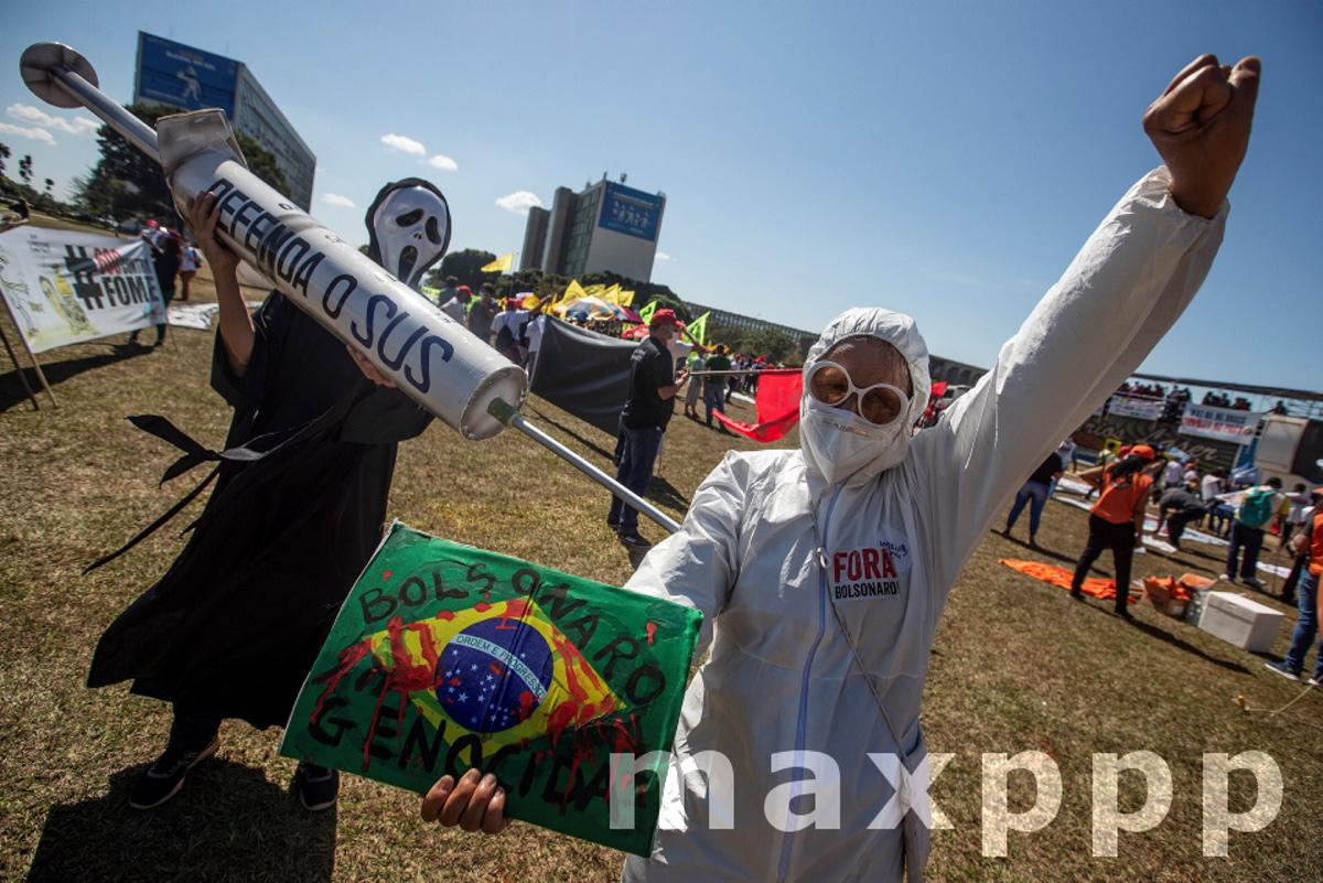 Unions demand help for the poor and stop privatizations in Brazil