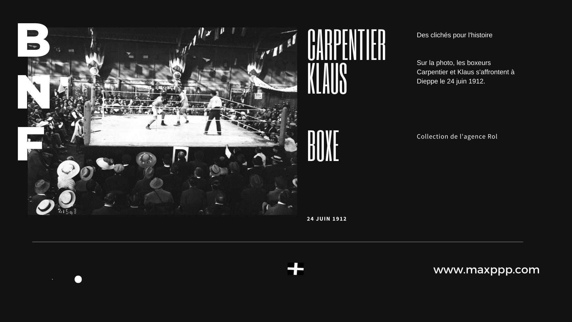 Boxe - Carpentier - Klaus