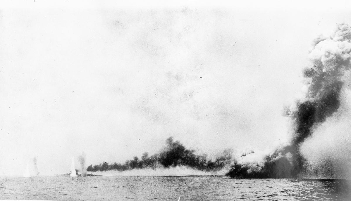Bataille de Jutland - 1916