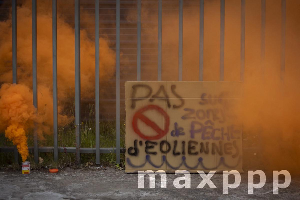 Manifestation Pecheurs Saint Brieuc