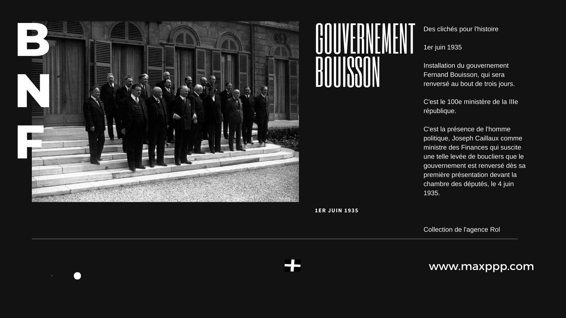 Gouvernement Bouisson : 1935