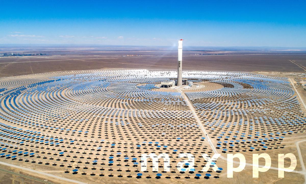 China Hami Molten Salt Solar Tower