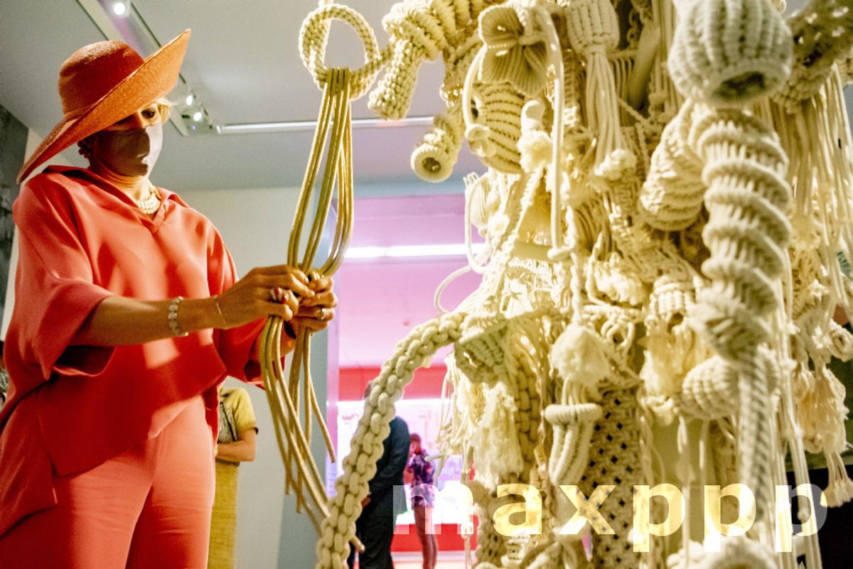 Queen Maxima opens Child Biennale