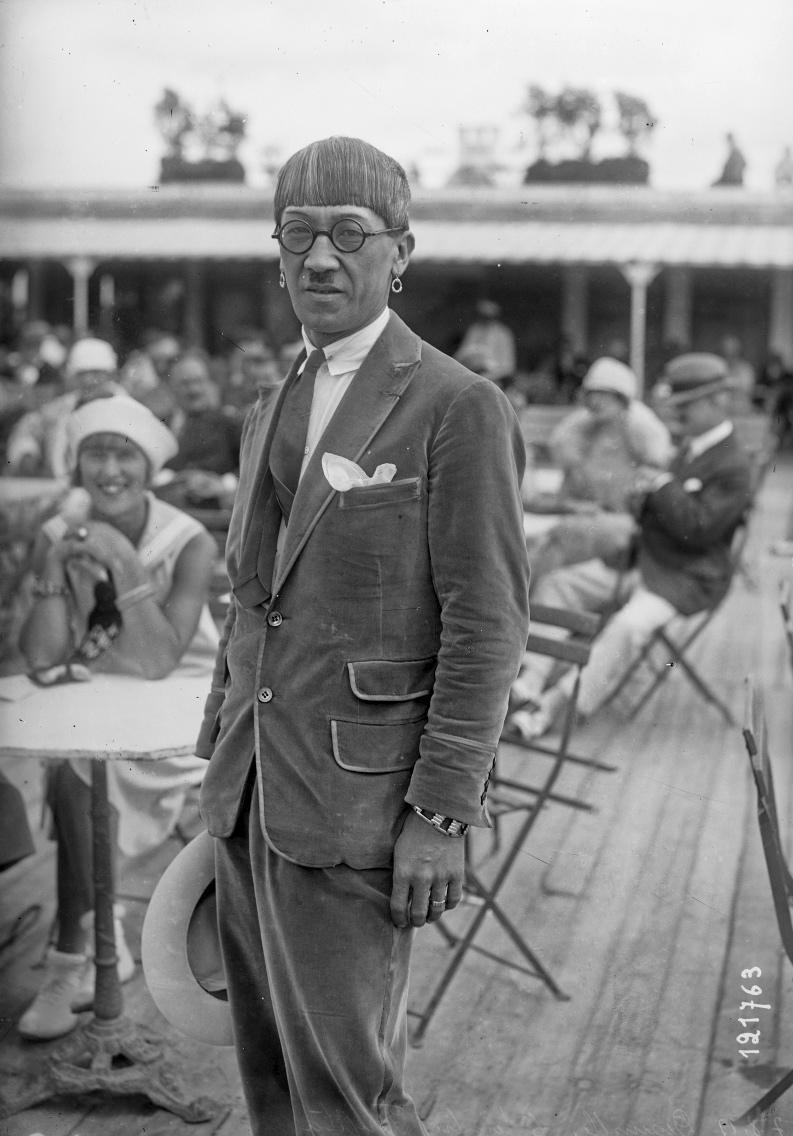 Foujita à Deauville en 1927