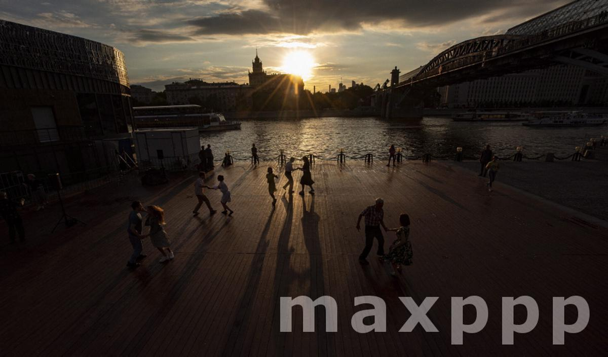 Daily life in Moscow