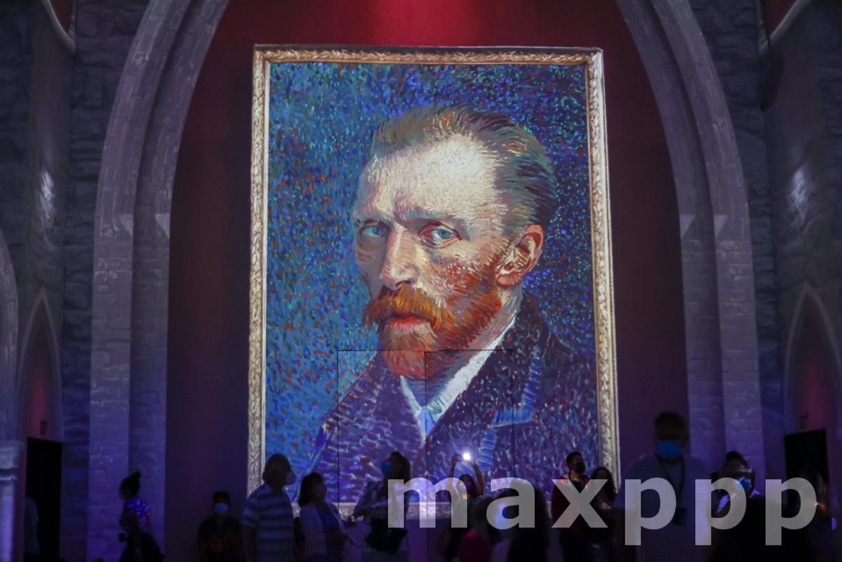 Van Gogh: The Immersive Experience exhibition in Atlanta, Georgia
