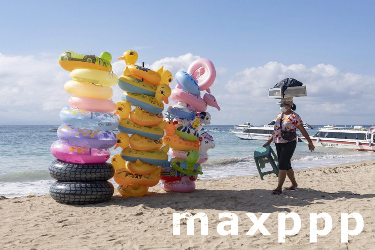 Tourism amid coronavirus pandemic in Bali, Indonesia