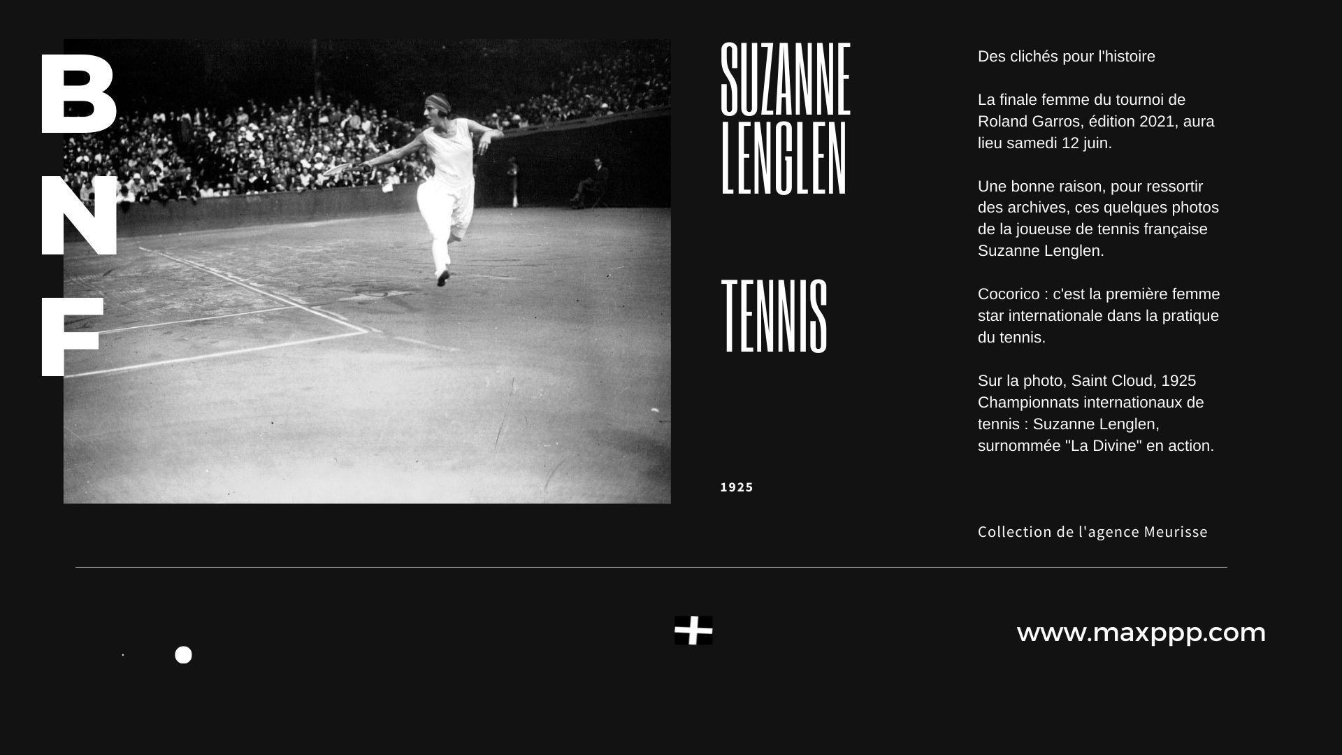 Suzanne Lenglen, 1925