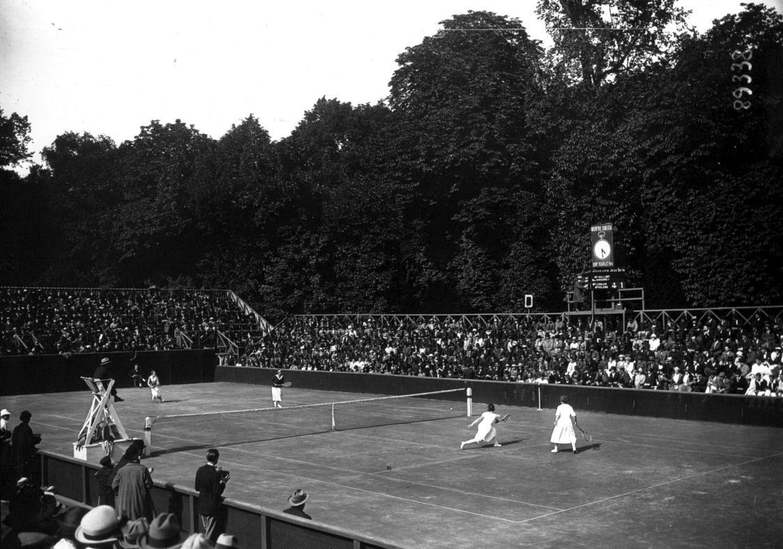 Suzanne Lenglen, 1921,