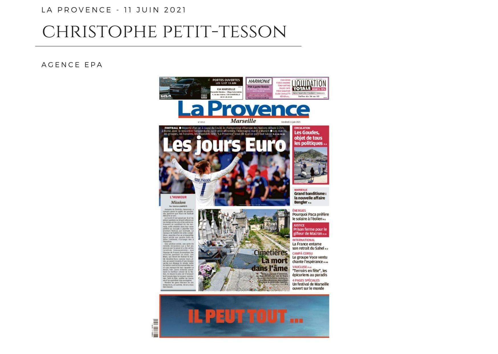 La Provence - 11 juin 2021