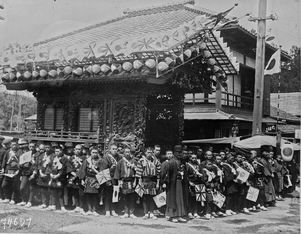 Visite du Prince de Galles au Japon - 1922