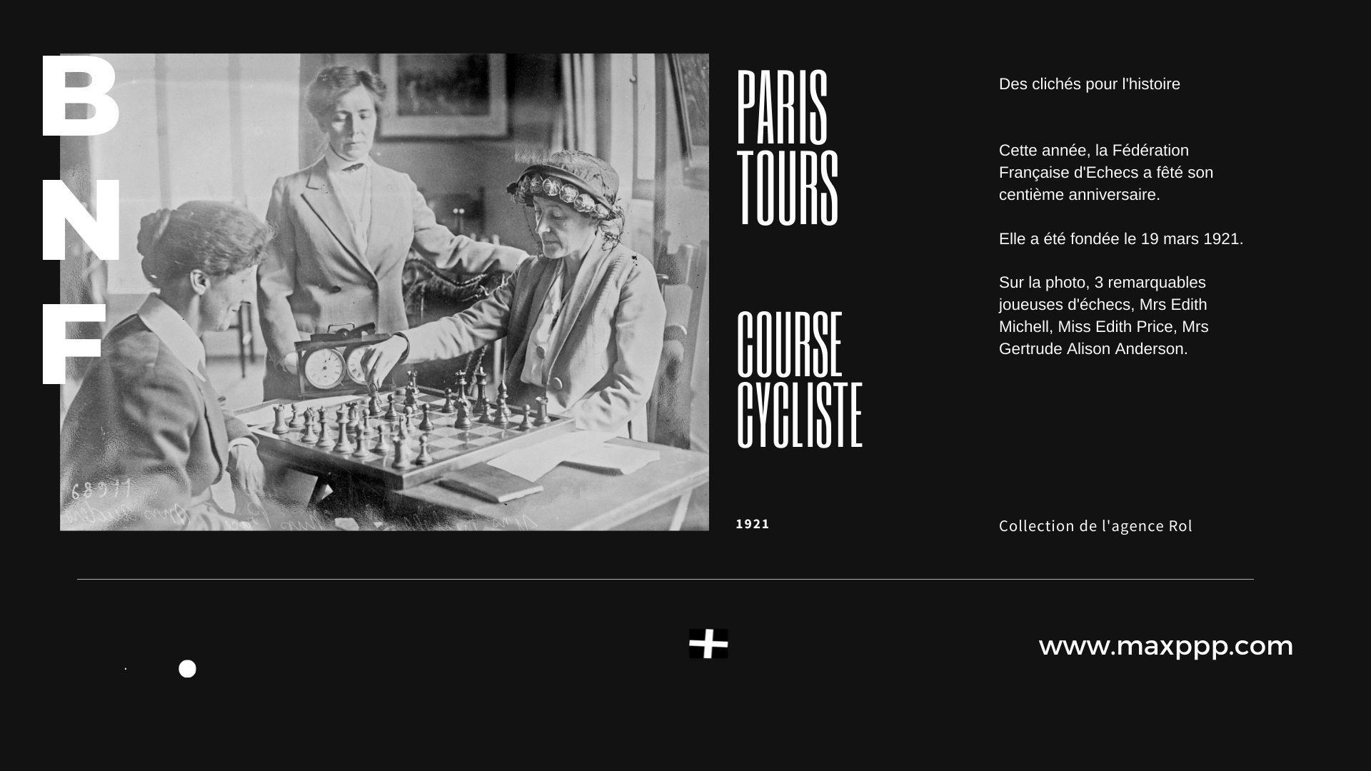Cent ans de la Fédération Française d'Echecs