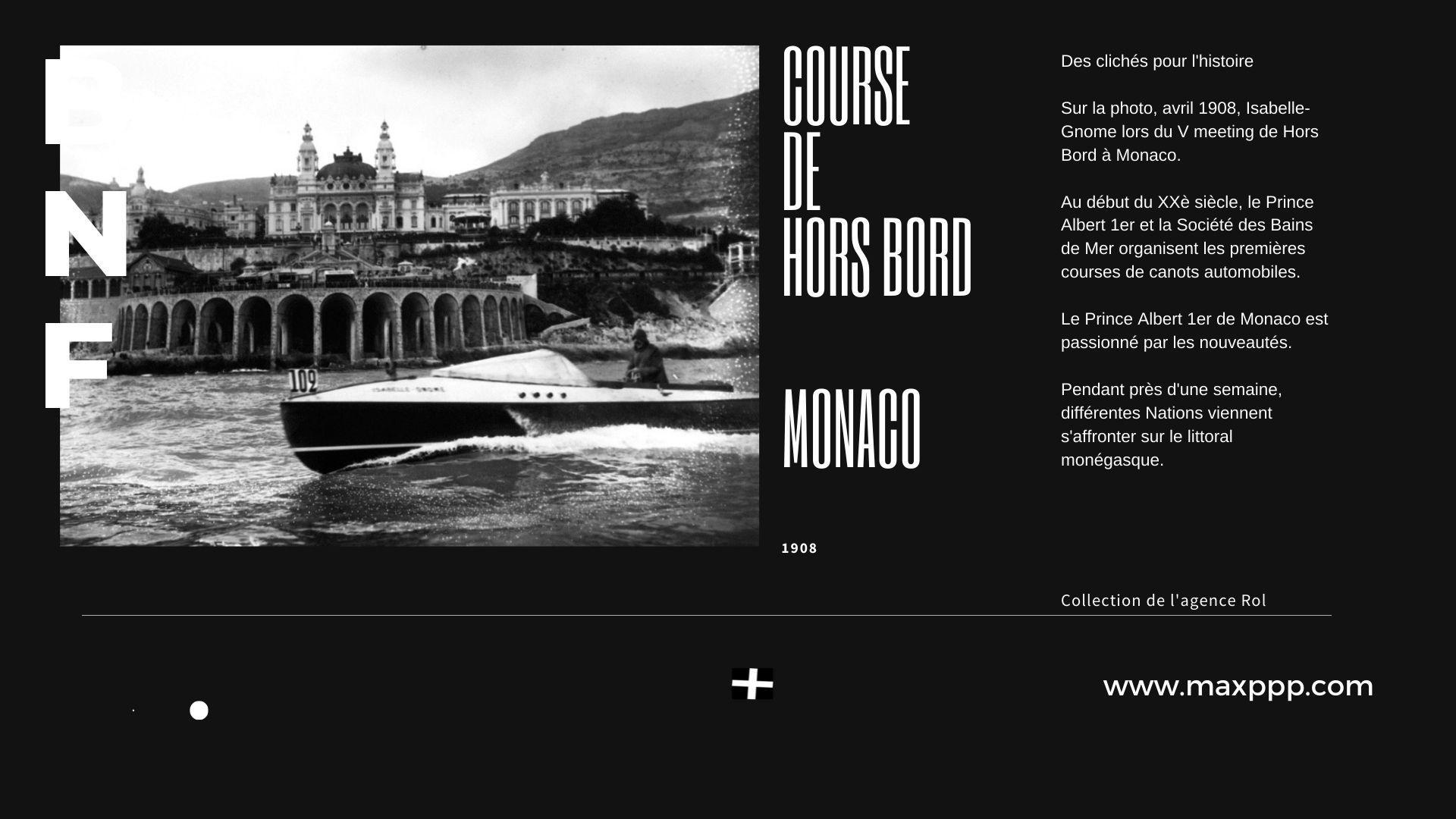 Monaco, meeting de Hors Bord, 1908