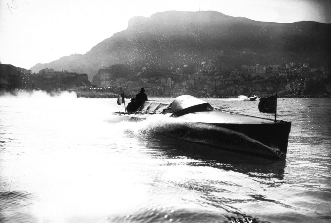 Monaco, meeting de hors bord, 1909