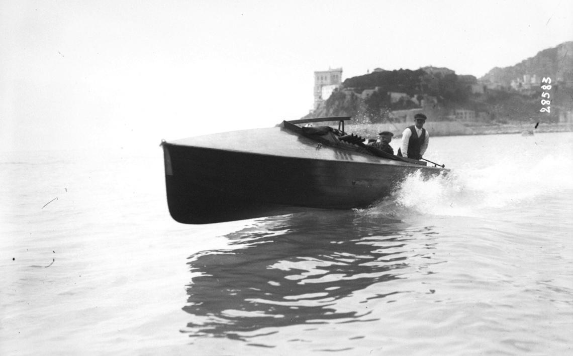 Monaco, meeting de hors bord, 1913
