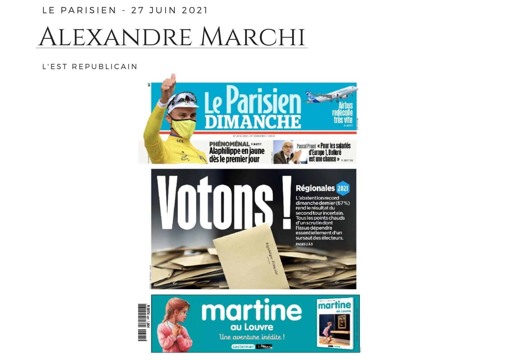 Le Parisien - 27 juin 2021