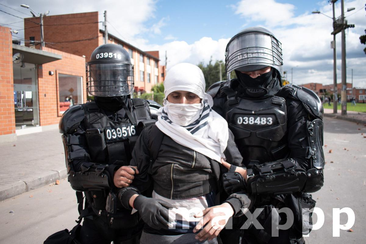 Anti-government protests in Colombia