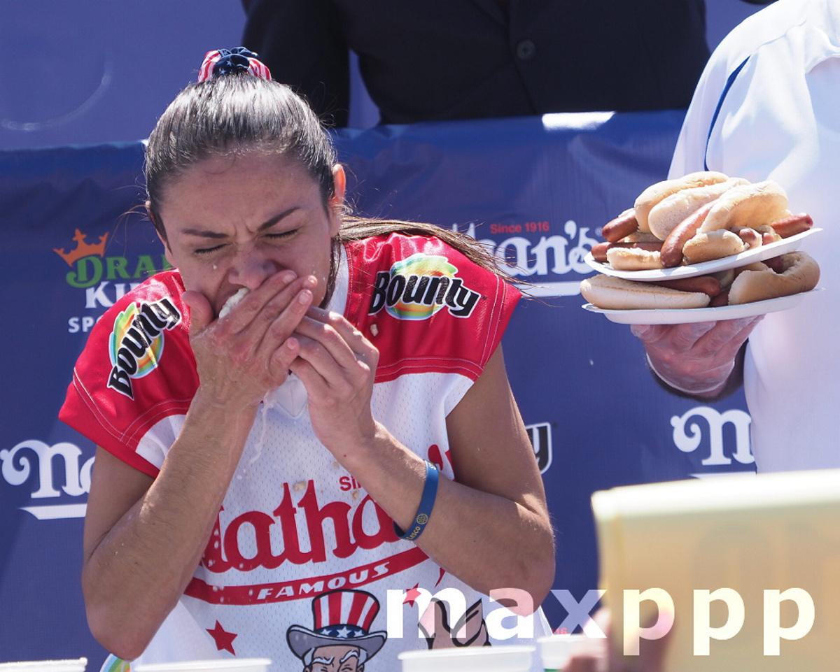 2021 Nathan's Hot Dog Eating Contest