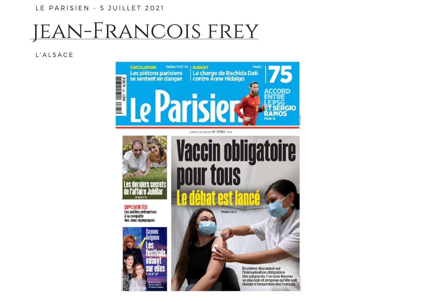 Le Parisien - 5 juillet 2021