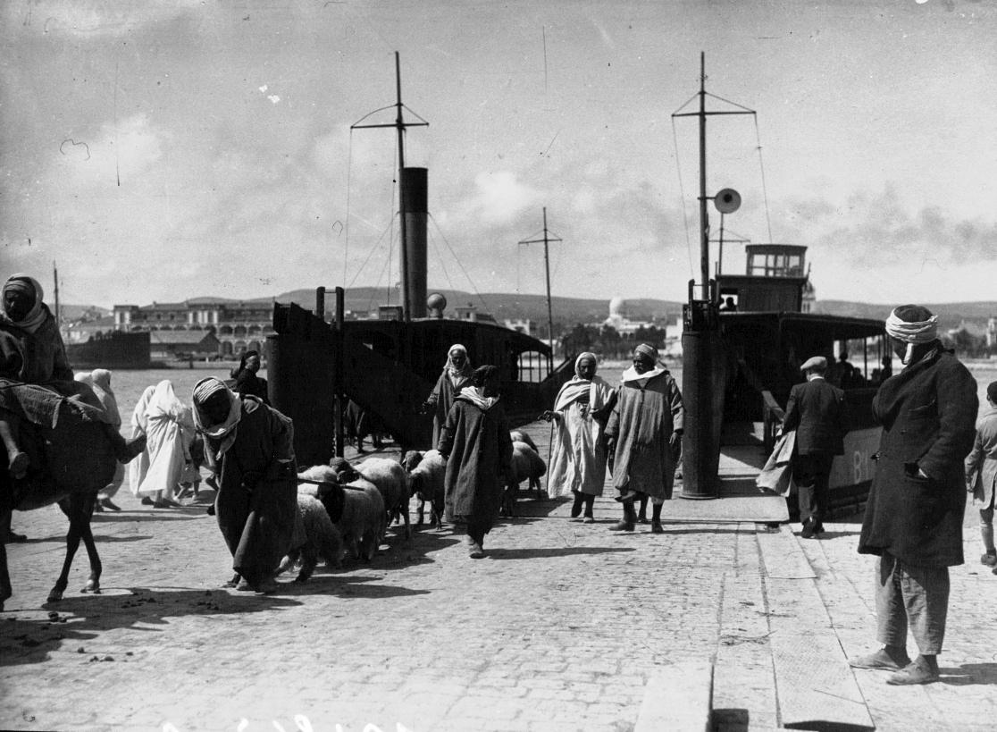 Ville de Kairouan en 1933