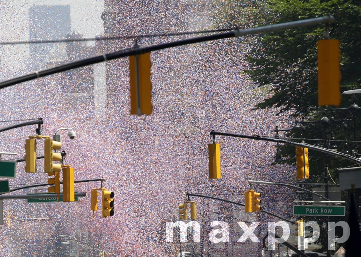 Ticker tape Parade to Celebrate Essential Workers in New York