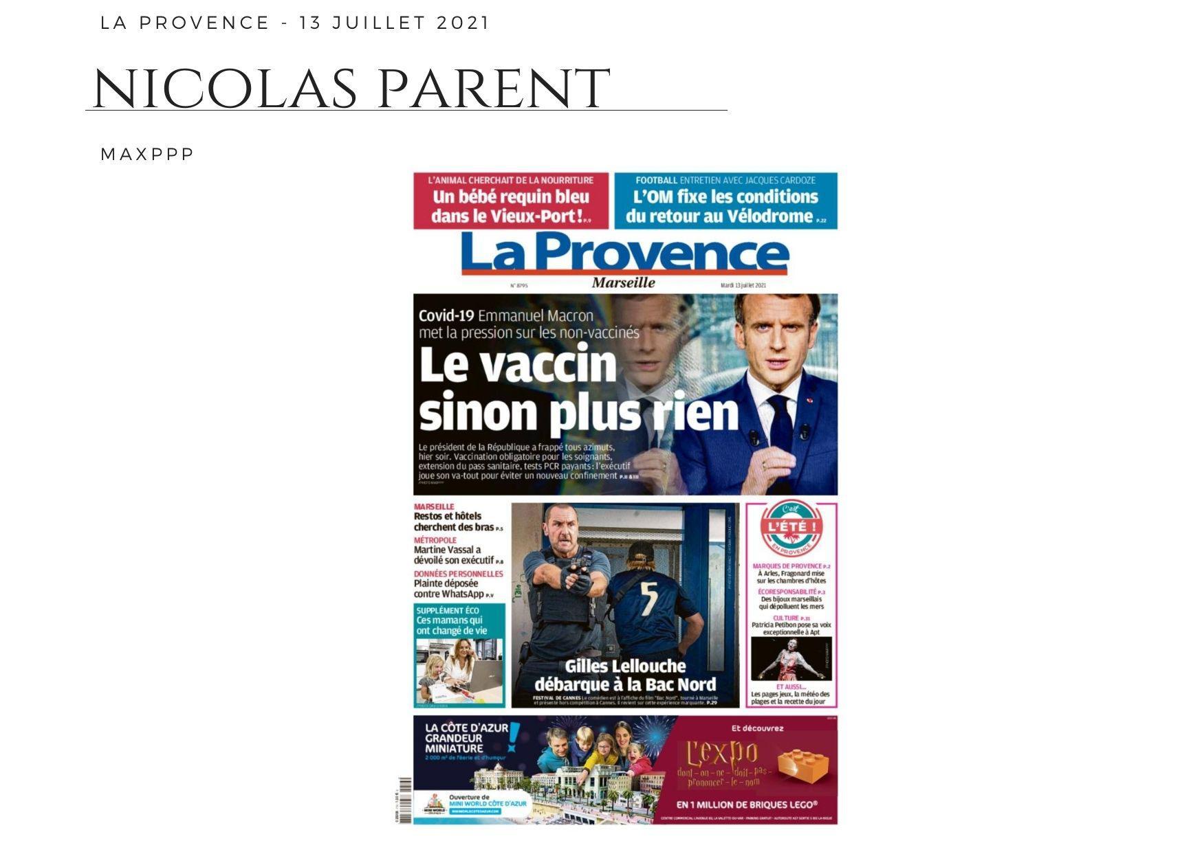 La Provence - 13 juillet 2021