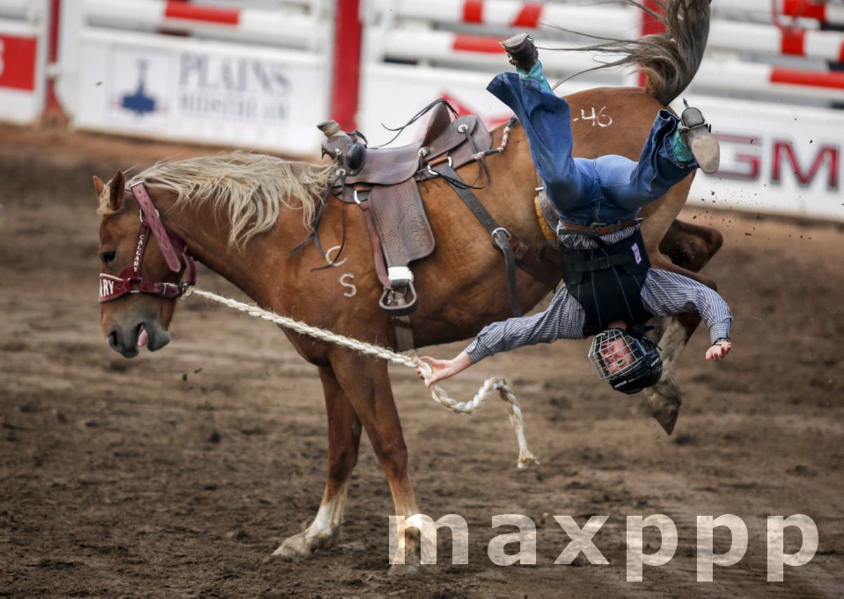 Broncs After Dark rodeo