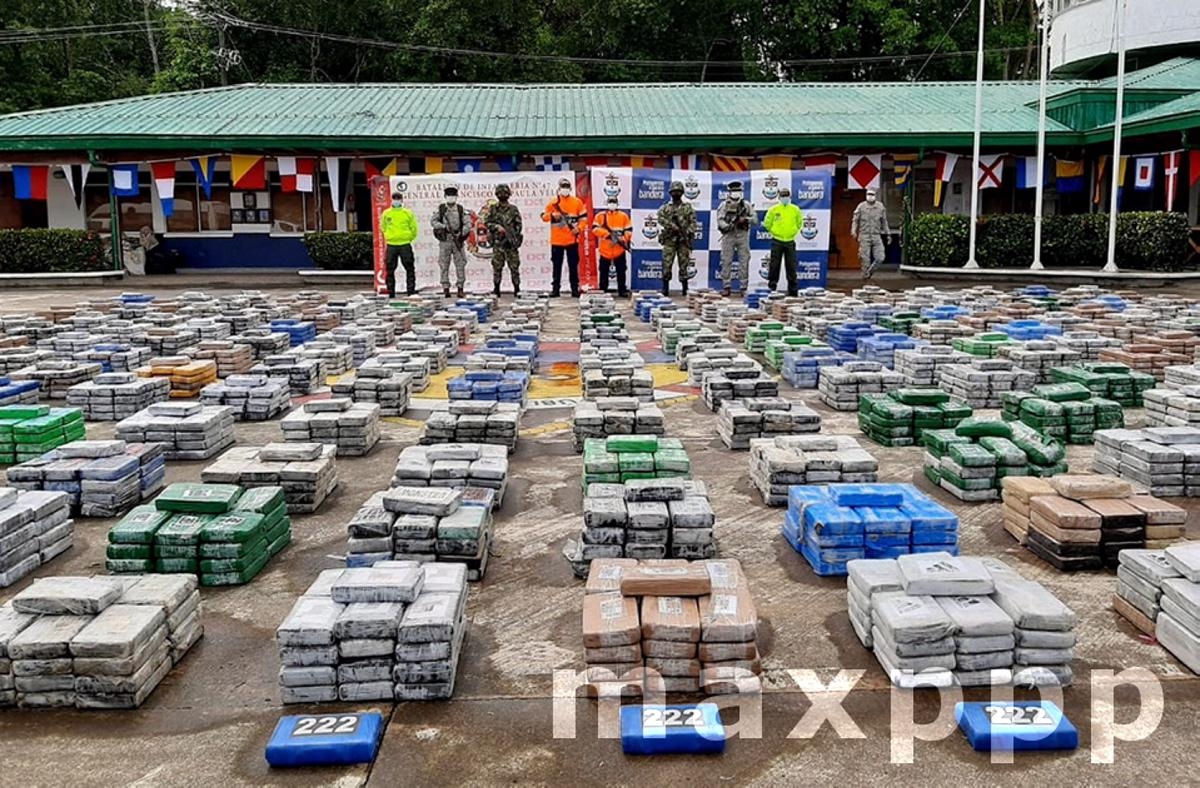5.4 tons of cocaine from the Gulf Clan seized in western Colombia