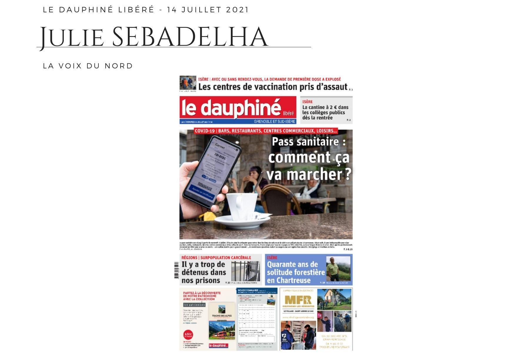 Le Dauphiné - 16 juillet 2021