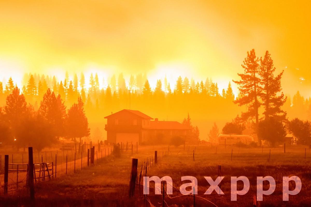 Tamarack Fire in US