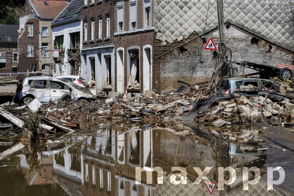 Flooding in Belgium