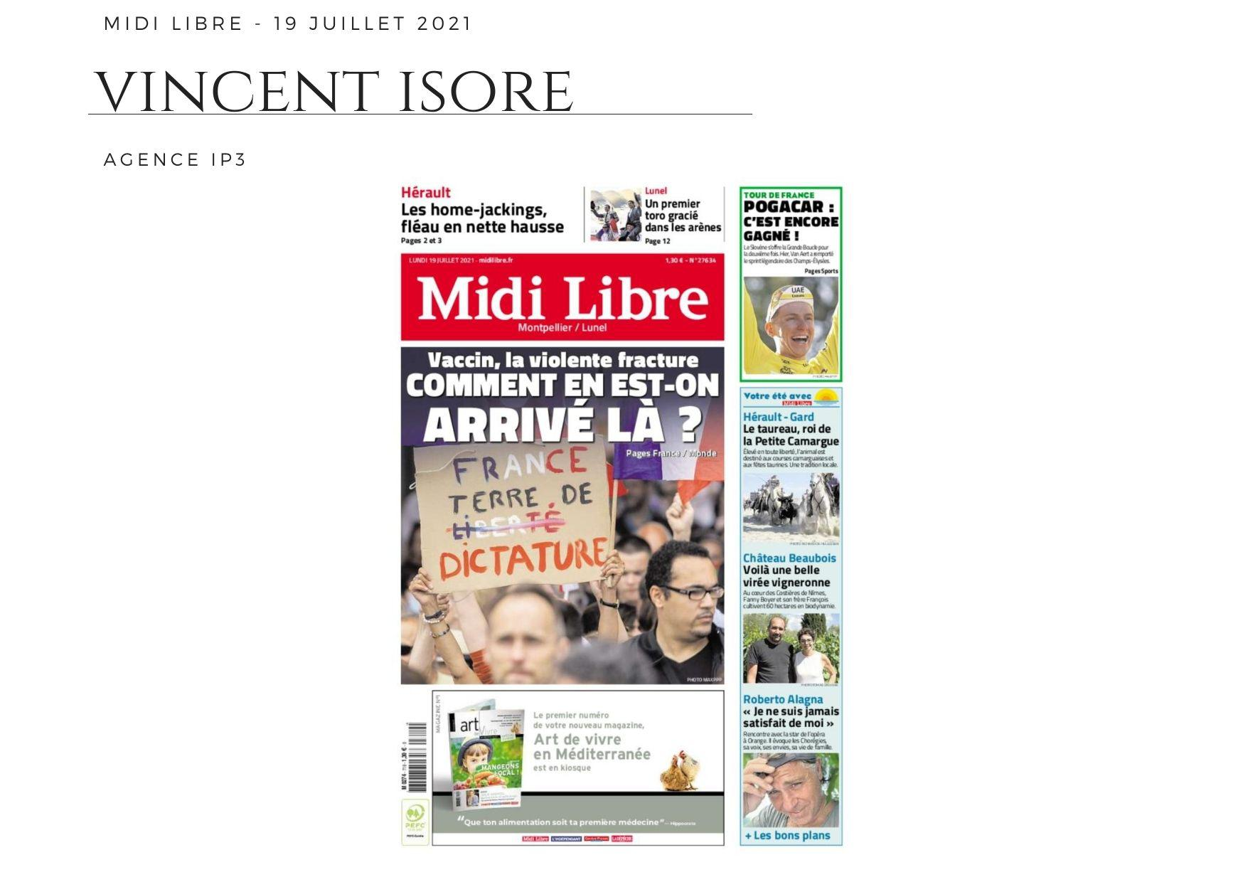 Midi Libre - 19 juillet 2021