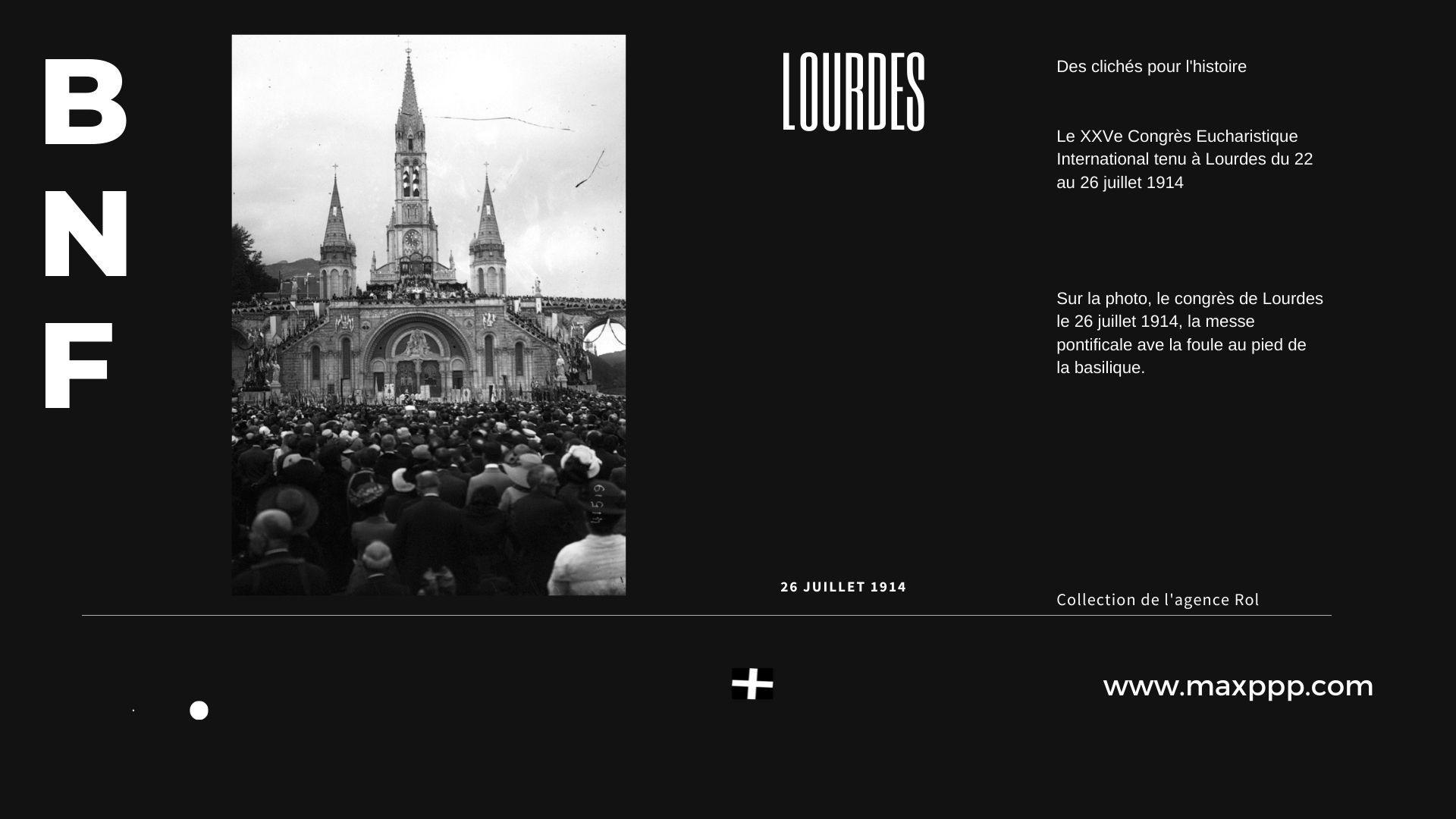 Congrès de Lourdes, 1914
