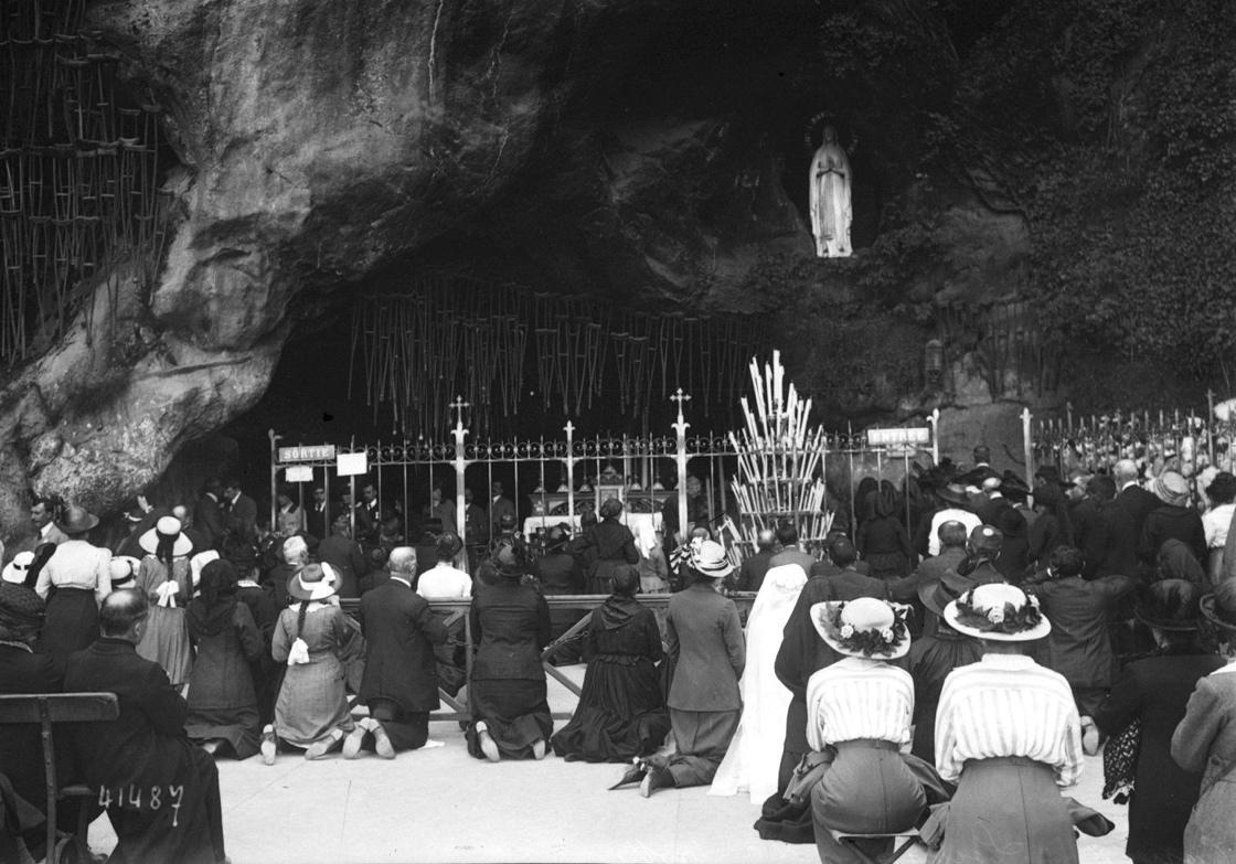 Congrès de Lourdes en 1914