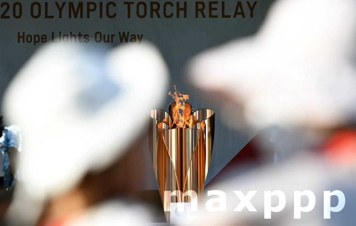 Day 11 of the torch relay in Tokyo Japan