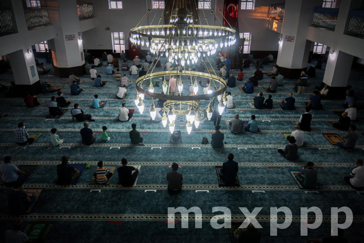 Eid-al-Adha prayers in Ankara, Turkey